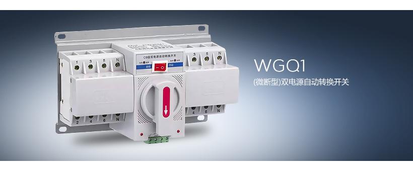 WGQ1(微断型)双电源自动转换开关
